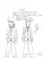Panty and Stocking-Briefers Rock by jacobspencer04