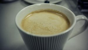homemade latte by feria233