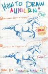 How to Draw a Unicorn by Paz by Lepas