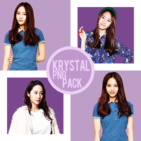 Krytal Jung [4 HD PNG] by GiosylZhang