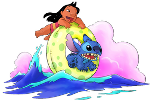 Lilo n Stitch. Tube by chocolatecherry