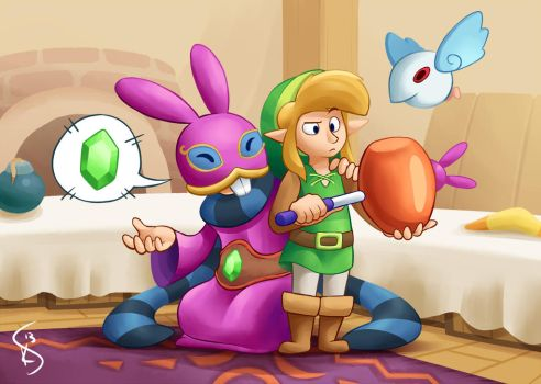 Ravio's Shop by Torkirby