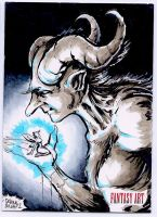 Consulting the fairies Sketch card by dsilvabarred