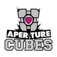 Portal Cubes Team Logo by outlawink