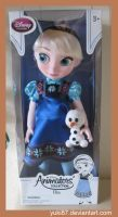 Animator's Collection Elsa with Baby Olaf by Yuki87