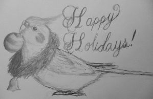 Happy Holidays! by MagicBirdie
