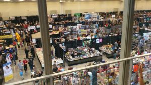 NF Comicon : Main Floor by TheWarRises
