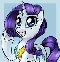 Rarity by Melon-Drop