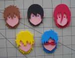 Foam Faces: Free! by Meika02