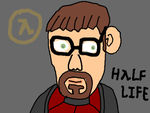 Gordon Freeman by DragonQuestWes