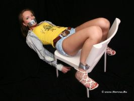 Chantelle tape gagged 4 by Stervus