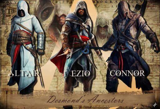 altair ezio connor by Molic