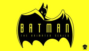 1993 Batman The Animated Series Title Logo by HappyBirthdayRoboto