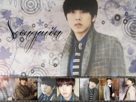 Super Junior 2012 calendar Sungmin by ForeverK-PoPFan