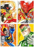 Comissioned sketchcards by MarcFerreira