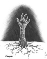 The HAND by Fragilew