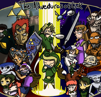 The Adventures of Link Title by Monotypical