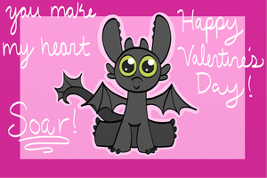 Toothless Valentine by CantateDomino