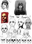 Practicing faces by FresiaX