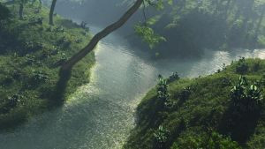 A River in the Forest by GiulioDesign94