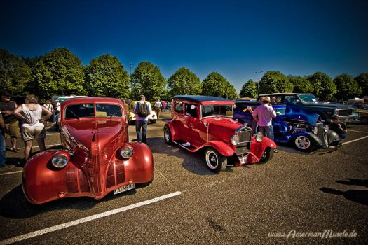 3 Hot Rods by AmericanMuscle