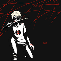 Dave Strider by KurohaAi