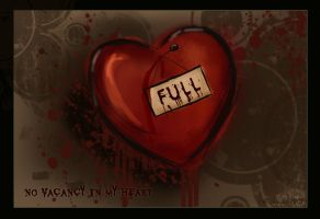 No vacancy in my heart by arrikitukis