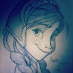 Anna (Frozen) by Dukestar1234