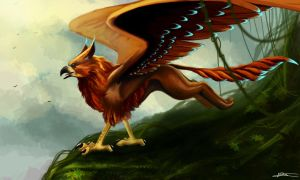 Gryphon by 44Shadow44