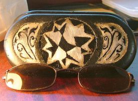 sunglass case mod by Swingerzetta