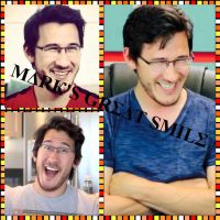 Mark's great smile by MalGirl101