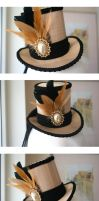 Fool's Gold Mini Hat by ImperialFiddlesticks