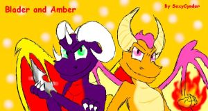 Blader and Amber by SexyCynder