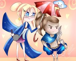 Yasuo and Janna by EzPinkie