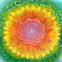 mandala 57 colored by hadas64