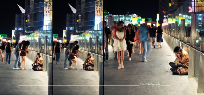 Homeless in Las Vegas. by meAnthony
