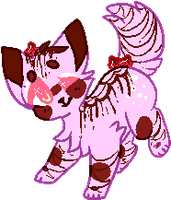 Choco Dipped Berry Cat OTA CLOSED by guIIs
