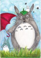 Totoro by littlemissmarikit