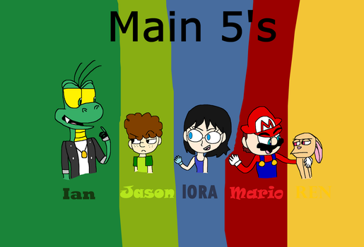 Main 5's of the first duo by iza200117