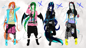 .-Adoptable Auction - CLOSED-. by Kyun-Adopts