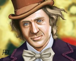 Willy Wonka by Torvald2000