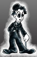 Charlie Chaplin by UnknownX