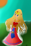 Zelda in the sunshine by princess-rosalina1