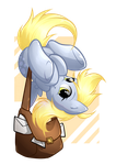 Chibi Derpy by secret-pony