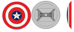 Captain America Shield by bagera3005