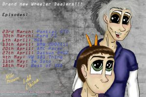 the new episodes of the wheeler dealers by MrsCromwell