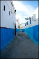 The Blue Alley by Dezaster3