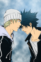 Kazu and Ikki Air gear by titaniaerza