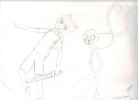 Adventure Time With Finn And Jake by KitsuneYagami