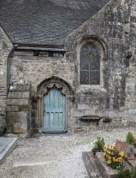 Brittany 45 - Church Small Door by HermitCrabStock
